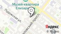 Меланж на карте