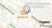 Улица Шамшева на карте