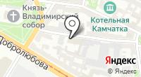 Деловой центр на карте