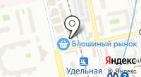 Магазин тканей на Фермском шоссе на карте