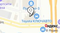Лексус-Пулково на карте