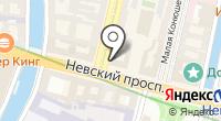 Петербург на карте