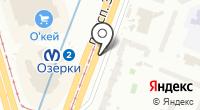 Магазин обуви на проспекте Энгельса на карте