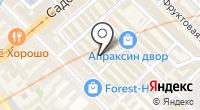 Магазин детской одежды на Садовой на карте