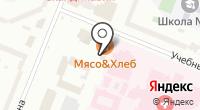 Автомойка на Учебном переулке на карте