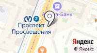 Магазин женской одежды на проспекте Энгельса на карте