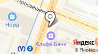 Обувной магазин на проспекте Энгельса на карте