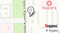 Продуктовый магазин на проспекте Юрия Гагарина на карте