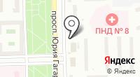 Мясной магазин на проспекте Юрия Гагарина на карте