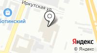 Сиреневое на карте