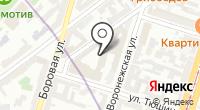 НьюТекс на карте