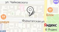 Таврическая на карте