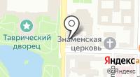 Исаков на карте
