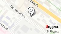 Вывескин на карте