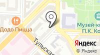 Продуктовый магазин на Ярославской на карте