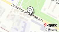 Полюстровский 28 на карте