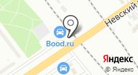 Автомойка на проспекте Славы на карте