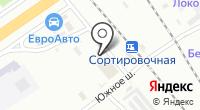 Магазин штор на Южном шоссе на карте