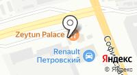 Автомойка на Софийской на карте