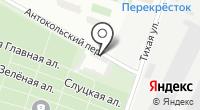 Автомойка на Тихой на карте