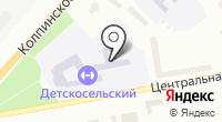 Детскосельский на карте