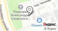 Бетранс на карте