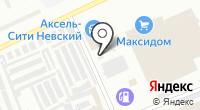 Автомойка на переулке Челиева на карте