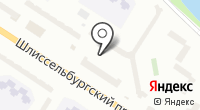 Магазин штор и партьеров на Шлиссельбургском проспекте на карте
