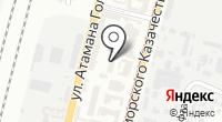 Одри на карте