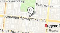 Одесское профессиональное училище железнодорожного транспорта и строительства на карте