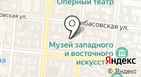 Управление национального банка Украины в Одесской области на карте