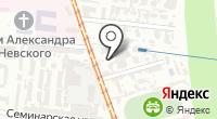 Оливье на карте