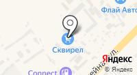 Сквирел на карте