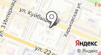 Нерудная компания на карте