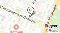 Галантус на карте