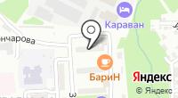 ТОЗ на карте