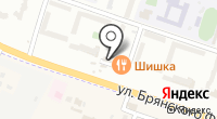 Склад-магазин бытовой техники на ул. Брянского Фронта на карте