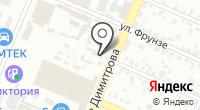 Брянский печатный двор на карте