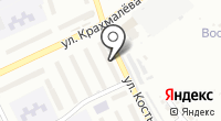 Сувенир на карте