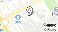 Троллейбусное депо №1 на карте