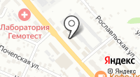 Поставщик-М на карте