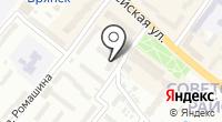 Содействие Брянское на карте