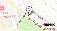 Магазин антиквариата и сувениров на ул. Горького на карте