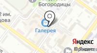 Галерея на карте