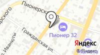 Интертехком на карте