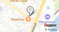 Юдисо на карте