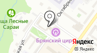 Брянский государственный цирк на карте