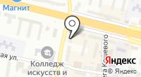 Тамерлан-тур на карте