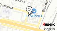 Росшина на карте