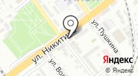 Сеть магазинов канцтоваров на карте